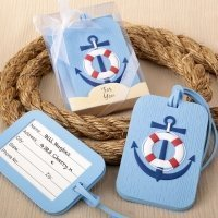 74d5fc5394a0fc Anchor Design Nautical Themed Luggage Tag Favors