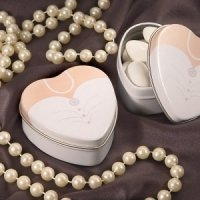 Fillable Bride Wedding Dress Tins