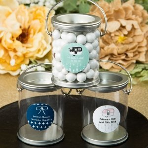 Aztec Wanderlust Design Classic Mini Paint Can Favors image
