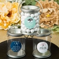 Aztec Wanderlust Design Classic Mini Paint Can Favors