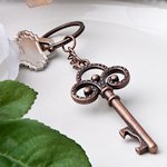 Vintage Party Favors - Skeleton Key Themed Keychains