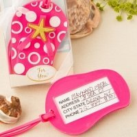 Flip Flop Luggage Tag Beach Wedding Favors