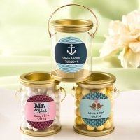 Customized Classic Mini Paint Can Favors