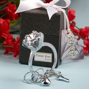 Gift Boxed Engagement Ring Key Chains image