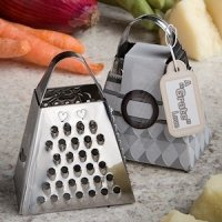 A 'Grate' Love Cheese Grater Favors
