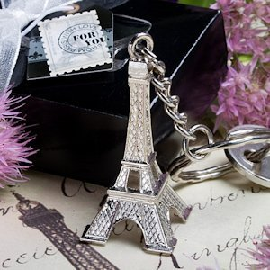 Eiffel Tower Key Chain image