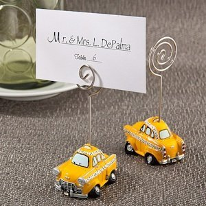 Taxicab Place Card Holders image