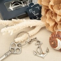 NauticalThemed Anchor Key Chain Favors
