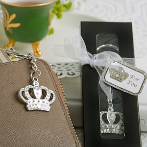 Majestic Crown Key Chain Favor image