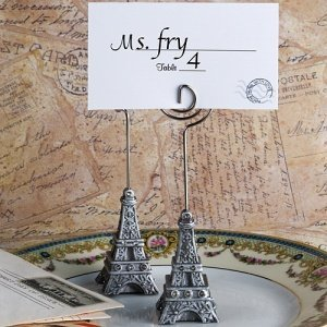 Amour Eiffel Tower Place Card Holders image