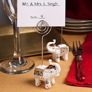Good Luck Elephant Place Card Holders image