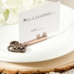 Vintage Skeleton Key Place Card Holder