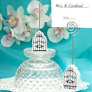 Elegant Birdcage Design Place Card Holders image