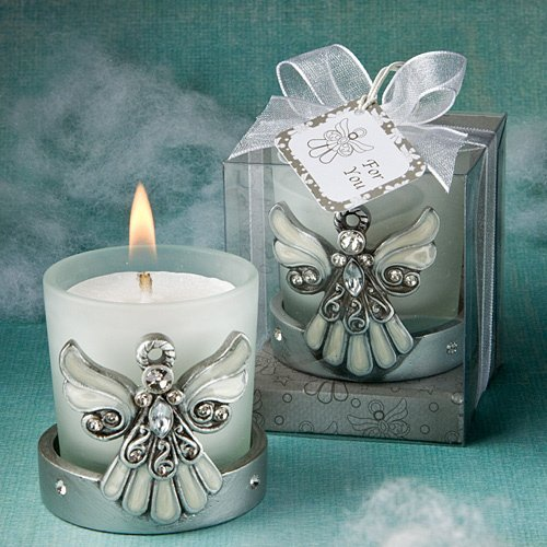 Divine Angel Candle Holders Wedding Favors Unlimited