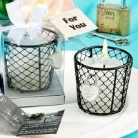 Romantic Love Locks Candle Favor