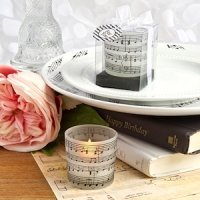 Musical Note Design Candle