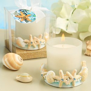 Life's a Beach Candle Wedding Favors image