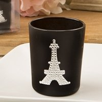 From Paris with Love Candle Votive French Wedding Favors
