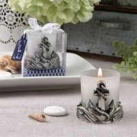 Magnificent Anchor Design Candle Votive Favor