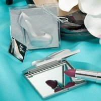 Shoe Design Mirror Compact Favors