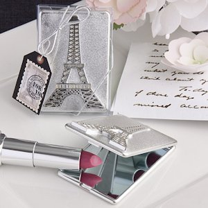 Eiffel Tower Design Mirror Compacts image