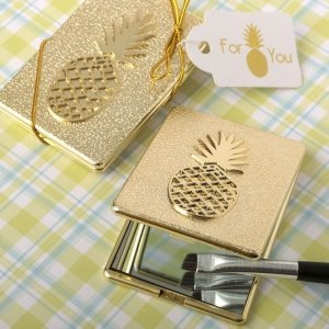 Pineapple Themed Compact Mirror Favors image