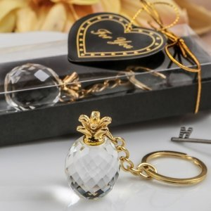 Choice Crystal Pineapple Key Chain Favors image