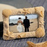 Sand & Shell Photo or Placecard Frame