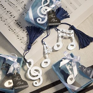 Musical Note Bookmark Favors image