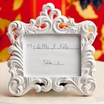 Baroque-Style Picture Frame Place Card Holders