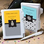 Any Anniversary Personalized Notebook Favors