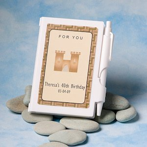 Fairy Tale Personalized Notebook Favors image