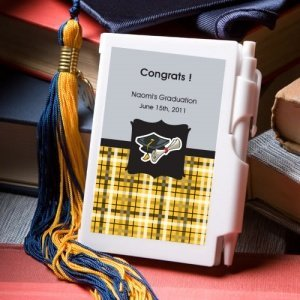 'Congrats to the Grad' Notebook Graduation Party Favors image