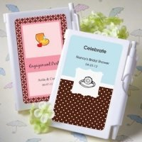 Notebook Personalized Wedding Shower Favors