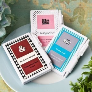 Personalized Marquee Design Notebook Favors image