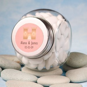 Fairy Tale Personalized Glass Jar Favors image