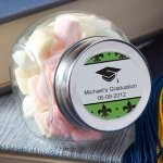 Glass Jar Personalized Graduation Party Favors