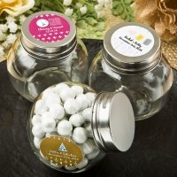 Aztec Wanderlust Design Collection Candy Glass Jar Favors