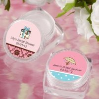 Lip Balm Personalized Bridal Shower Favors