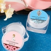 Personalized Lip Balm First Communion Party Favors