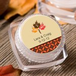 Autumn Personalized Lip Balm Favors