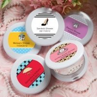 Bridal Shower Personalized Favors - Compact Mirrors