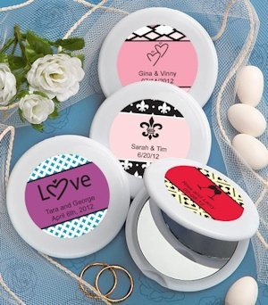 Personalized Compact Mirrors Favors image