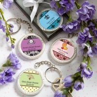 Bridal Shower Personalized Key Rings