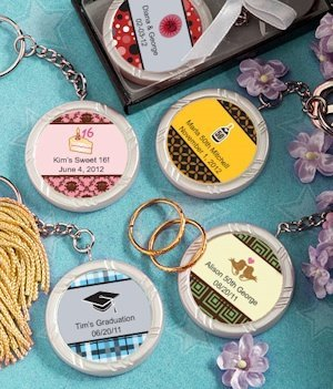Personalized Sweet Celebrations Key Ring image