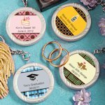 Personalized Sweet Celebrations Key Ring