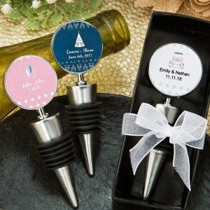 Aztec Wanderlust Design Wine Bottle Stopper Favors image