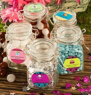 Personalized Sweet Celebrations Apothecary Jars image