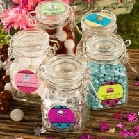 Personalized Sweet Celebrations Apothecary Jars