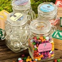 Personalized Baby Shower Apothecary Jar Favors